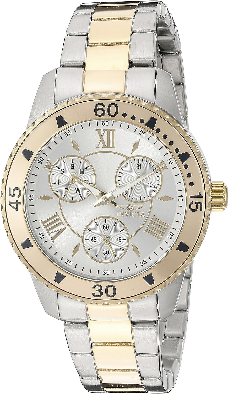 Invicta Women's 21770 Angel Analog Display Quartz Two Tone Watch