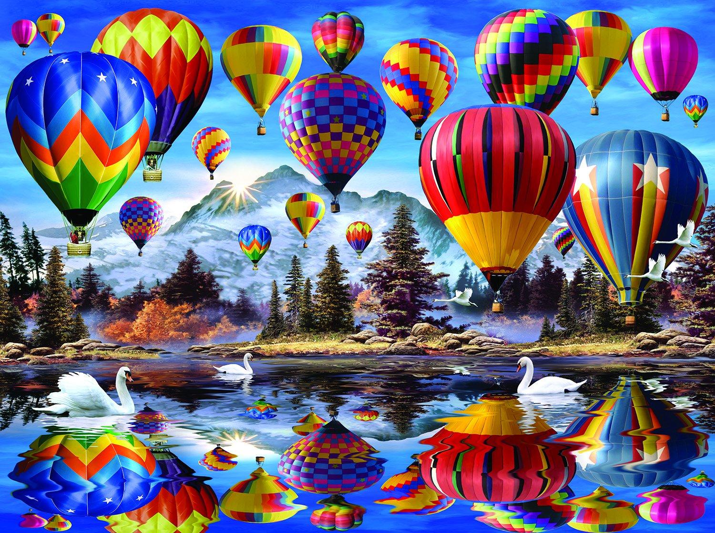 SunsOut Hot Air Balloons 1000 Piece Jigsaw Puzzle SG/_B077YB1NH5/_US