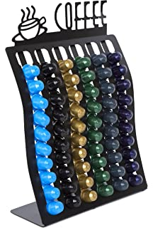 Insight Nespresso Coffee Pod Rack -- Holder for up to 60 Capsules (Coffee pods