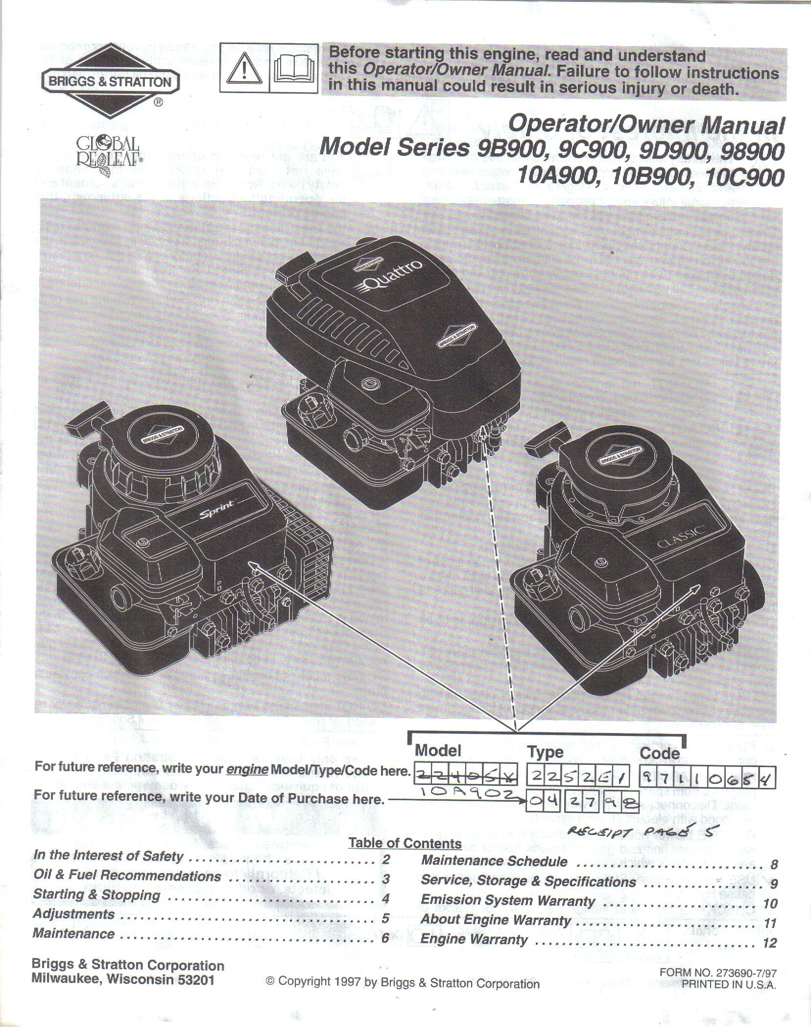 briggs 35 classic manual rh briggs 35 classic manual tempower us Briggs and Stratton Parts Manuals Briggs and Stratton Engine Troubleshooting