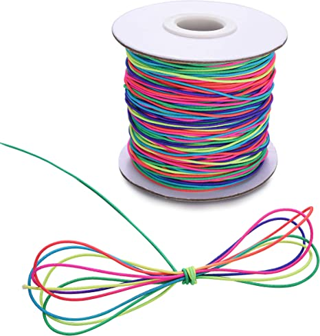 7 Colors Elastic Stretchy Beading Thread Cord Bracelet String For Jewelry Making