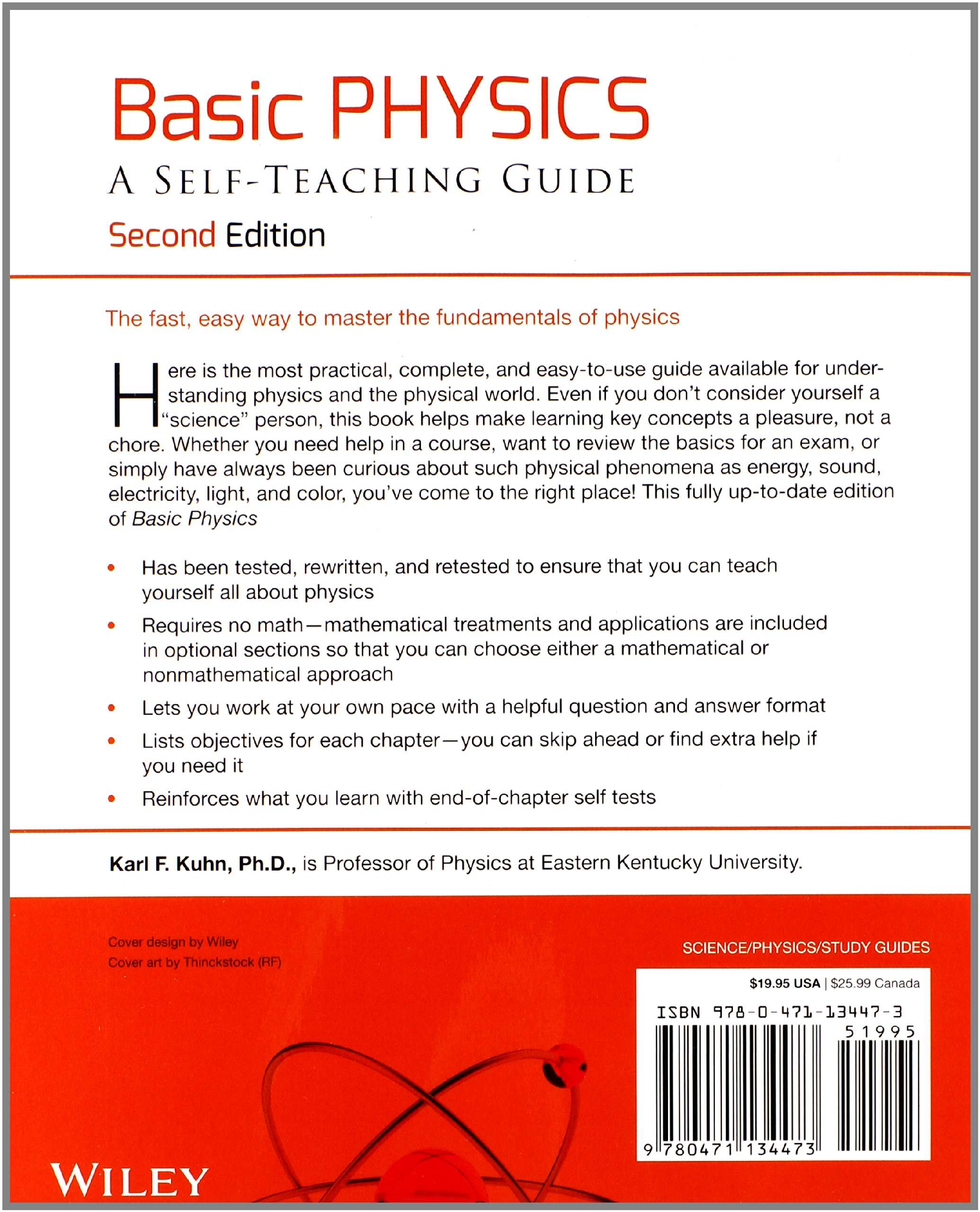 basic physics a self teaching guide wiley self teaching guides basic physics a self teaching guide wiley self teaching guides amazon co uk karl f kuhn 8601300290041 books