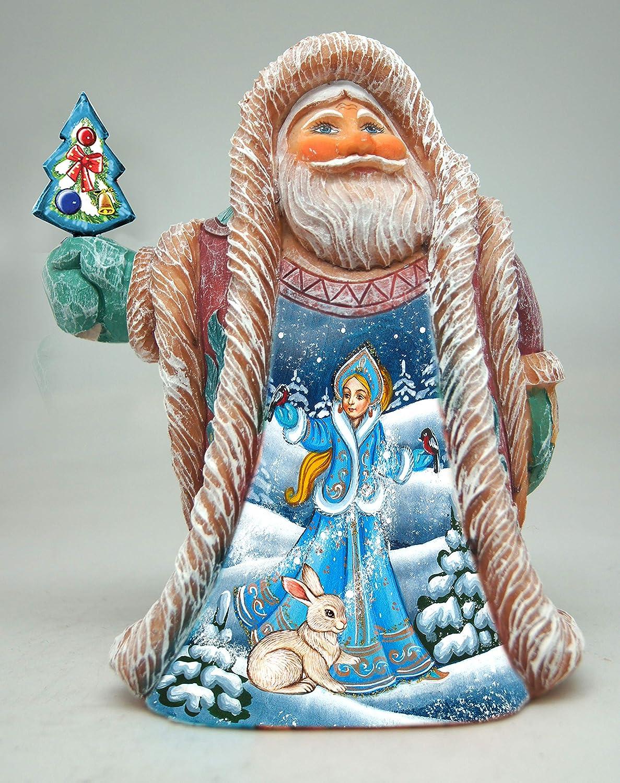 Debrekht Snowmaiden Scene Santa G