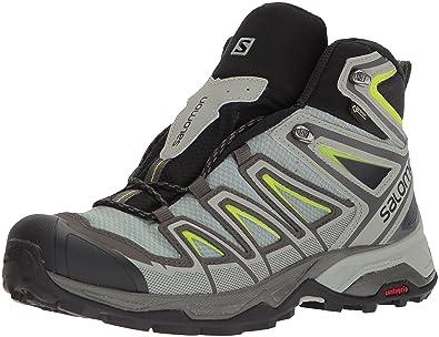 pretty nice b0d1c fab19 Salomon Men s X Ultra 3 Mid GTX High Rise Hiking Boots, Grey (Beluga