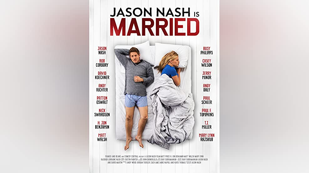Jason Nash is Married