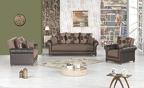 Amazon.com: Sueño Decoración funcional futon salón Set ...