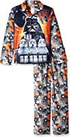 LEGO Star Wars Boys' Coat Pajama Set, Button Front Top, with Pant