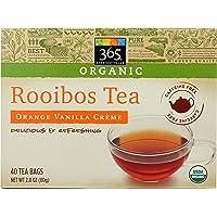 365 Everyday Value Organic Rooibos Orange Vanilla Crème Tea, 40 tea bags ( package may vary )