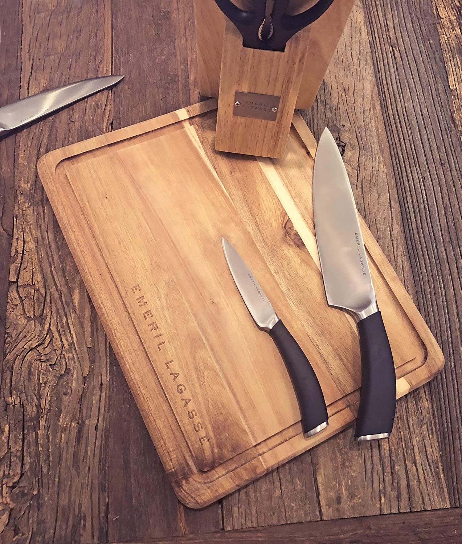 emeril forged knife block set reviews