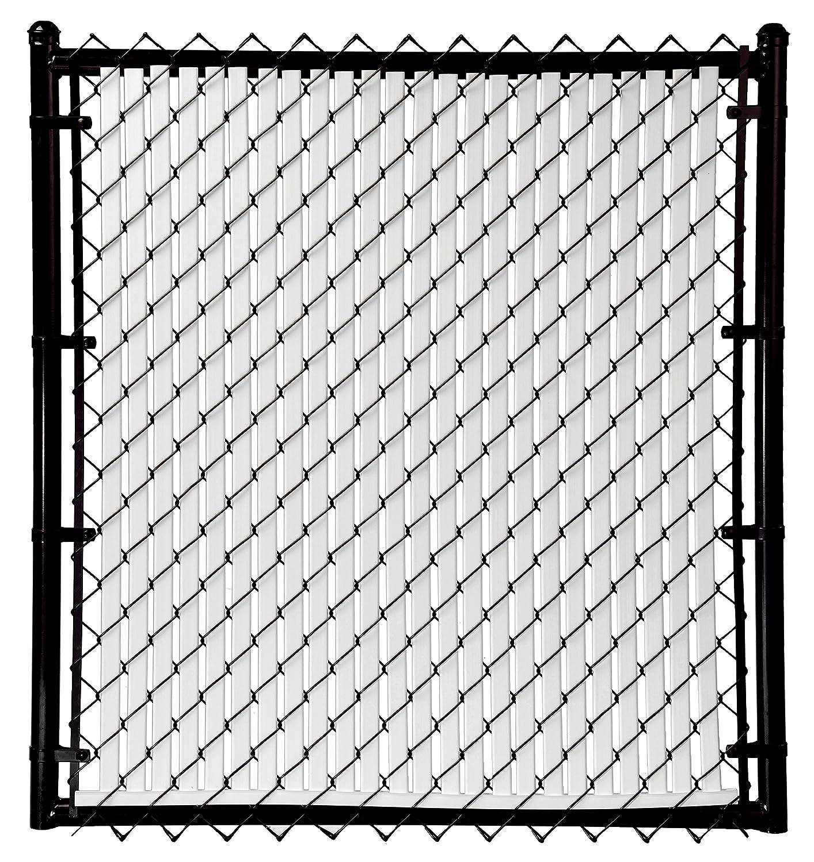 Amazon.com : 6ft White Tube Slats® for Chain Link Fence : Garden ...