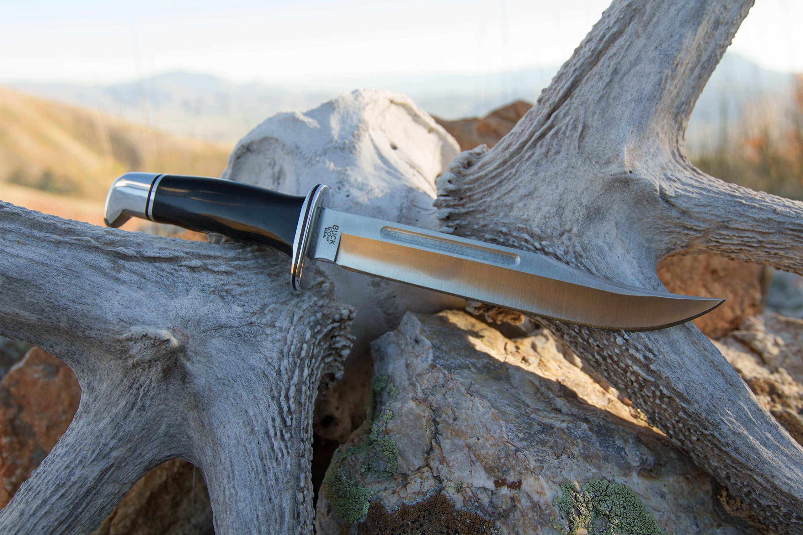 Buck Knives 0120BKS GENERAL Fixed Blade Knife with Genuine Leather Sheath by Buck Knives (Image #4)