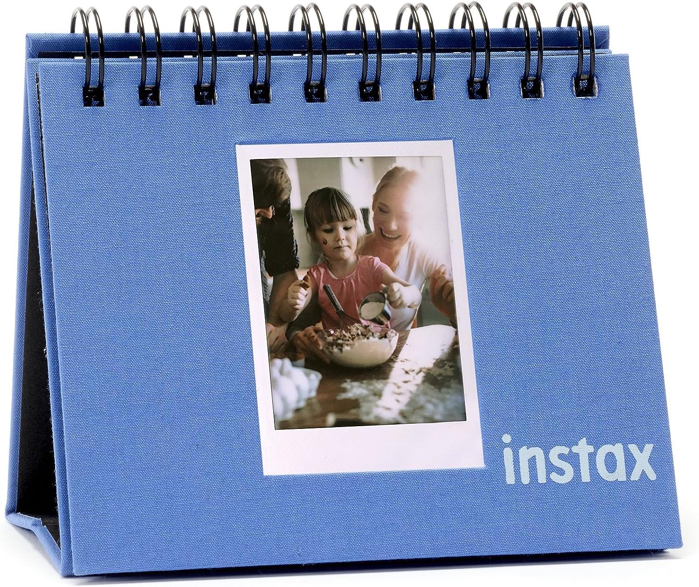 Fujifilm Instax Mini - Álbum Tipo Calendario, Color Azul Cobalto