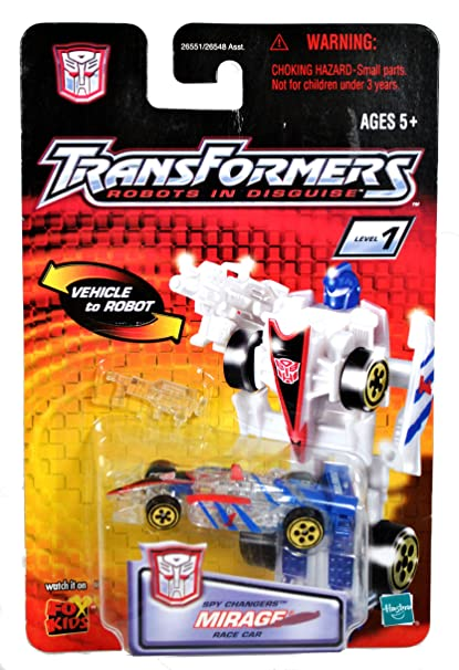 amazon com transformers robots in disguise spychanger clear mirage