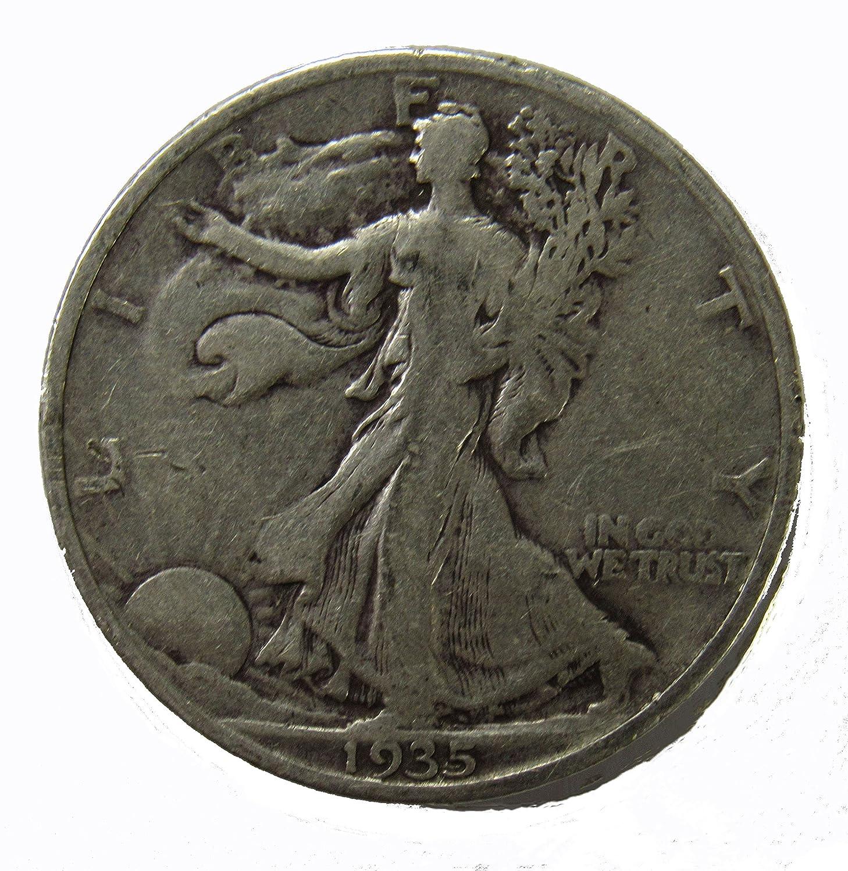 1935 P WALKING LIBERTY HALF DOLLAR *AG OR BETTER* *90/% SILVER* **FREE SHIPPING**