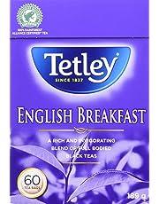 Tetley English Breakfast Tea, 60 Count