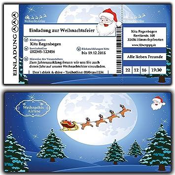 Einladung Weihnachtsfeier Kunden.Einladungskarten Einladung Zur Weihnachtsfeier Weihnachtskarten Weihnachtsessen Für Firmen Vereine Kita Kindergarten Grunschschule Schule