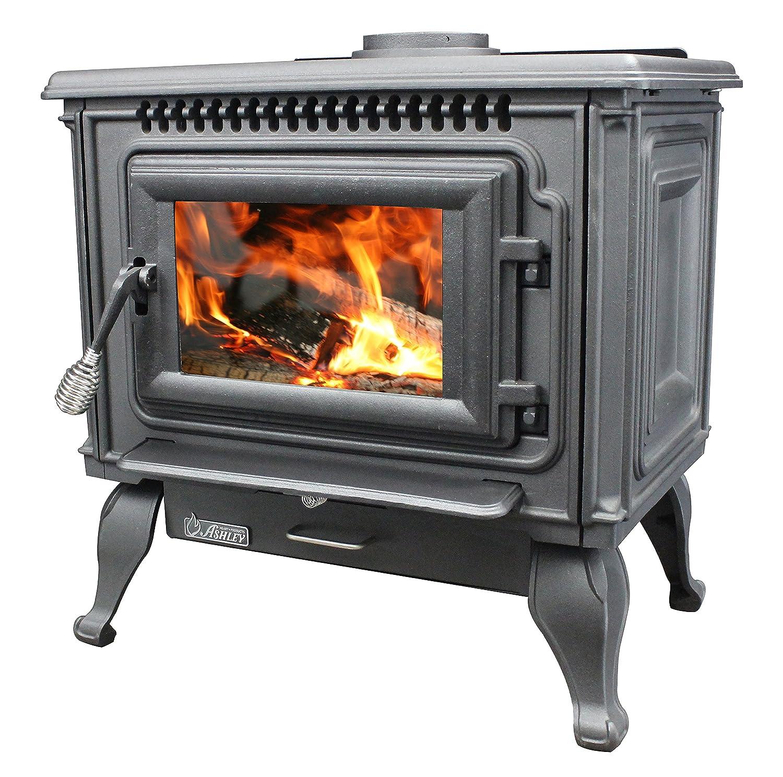 Amazon.com: Ashley AC2000 Medium EPA Cast Iron Wood Stove: Home ...