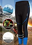 ZITY Cycling Pants 3/4 Womens 3D Padded Bicycle
