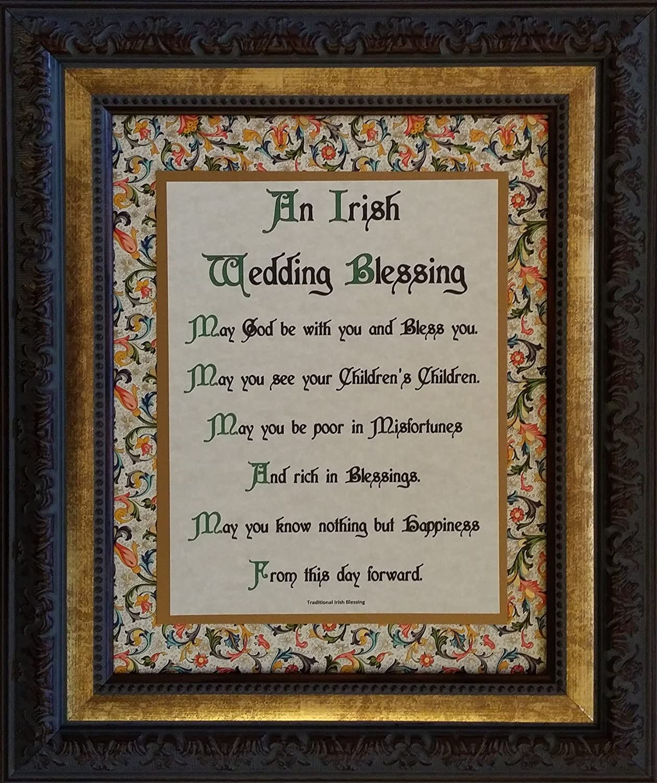 Amazon.com: Irish Wedding Blessing - Framed Inspirational Prayer