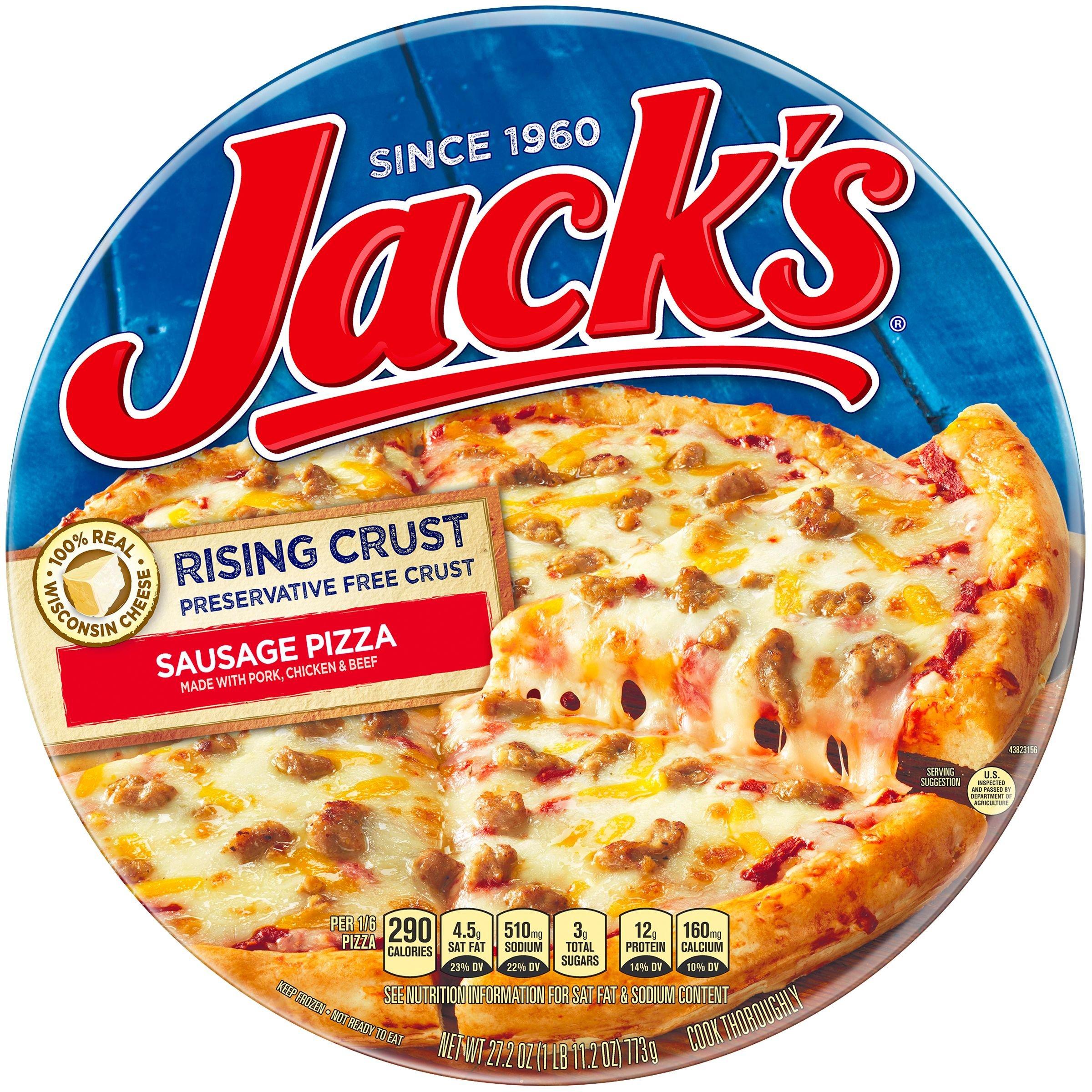 Jack's, Rising Crust, Sausage, 27.2 oz. (12 count)