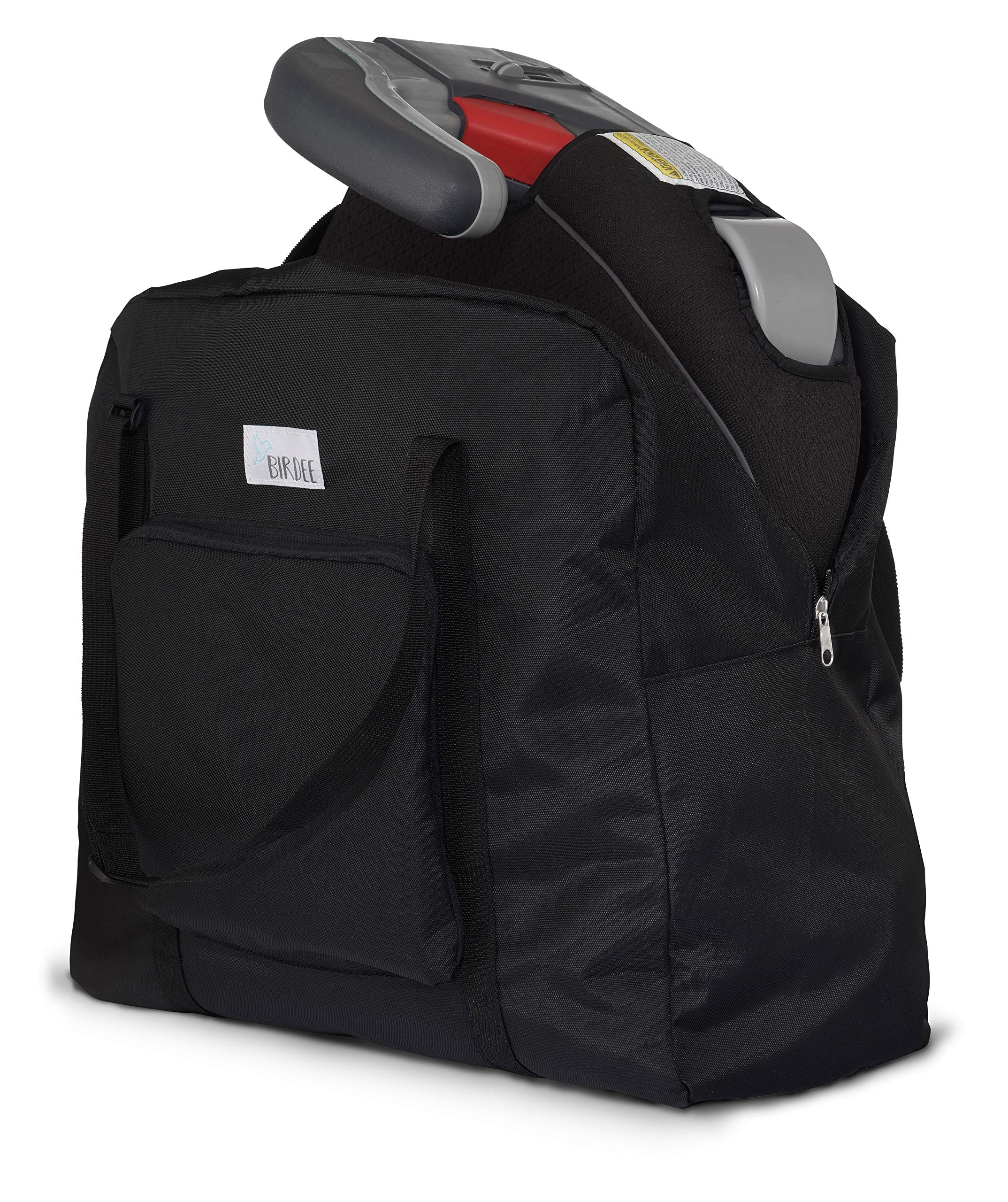 Birdee Backless Booster Seat Travel Bag for Airplane Gate Check and Carrier for Travel by Birdee