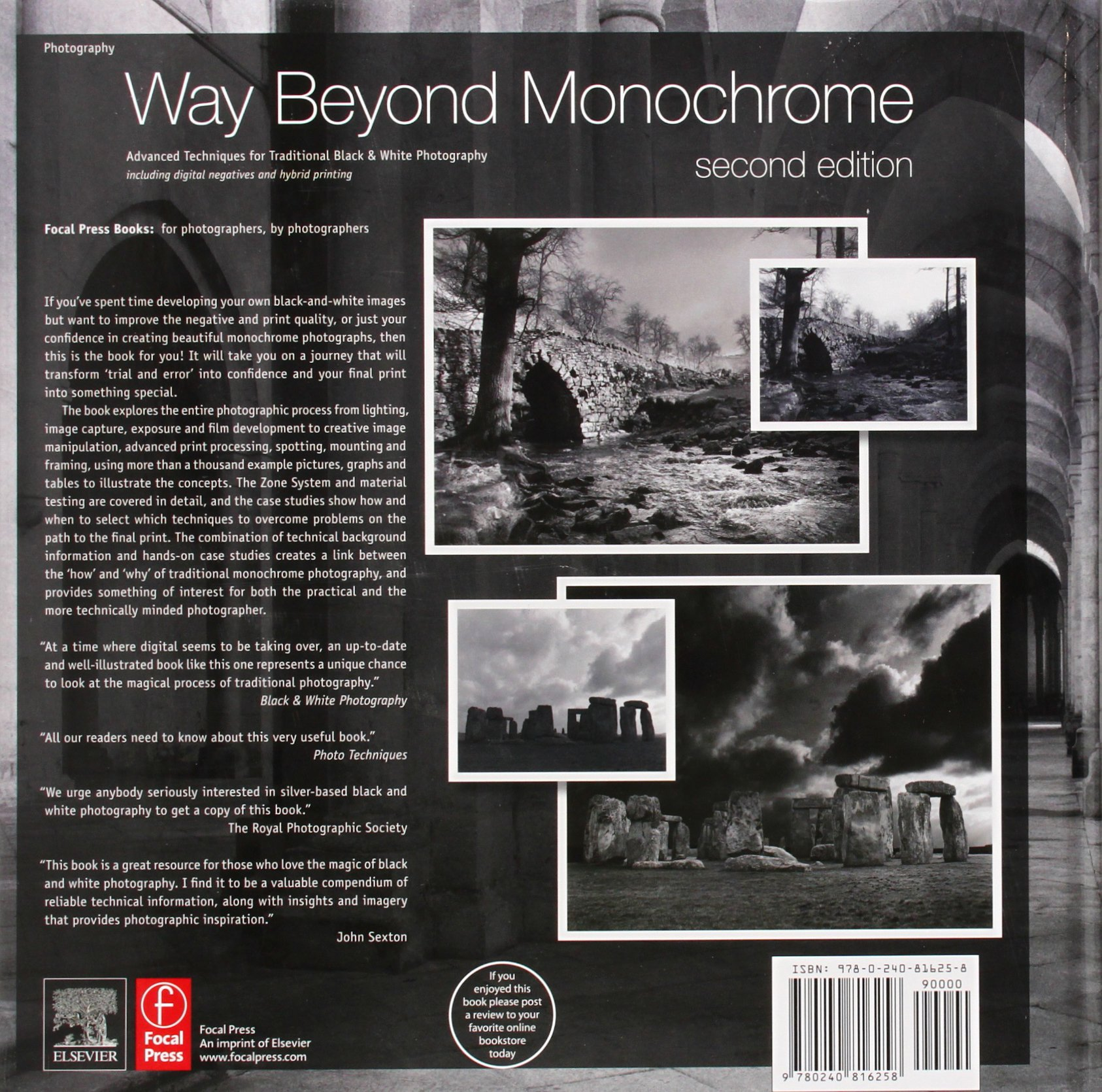 Way beyond monochrome 2e advanced techniques for traditional black white photography including digital negatives and hybrid printing amazon co uk ralph