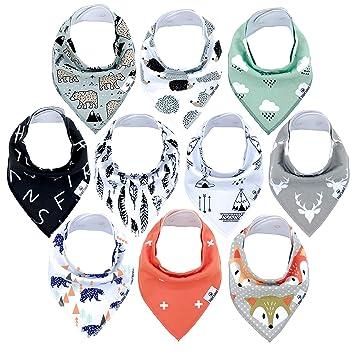 drool bib baby Bib woodland,baby gift baby shower gift baby accessory dribble bib fox new baby gift