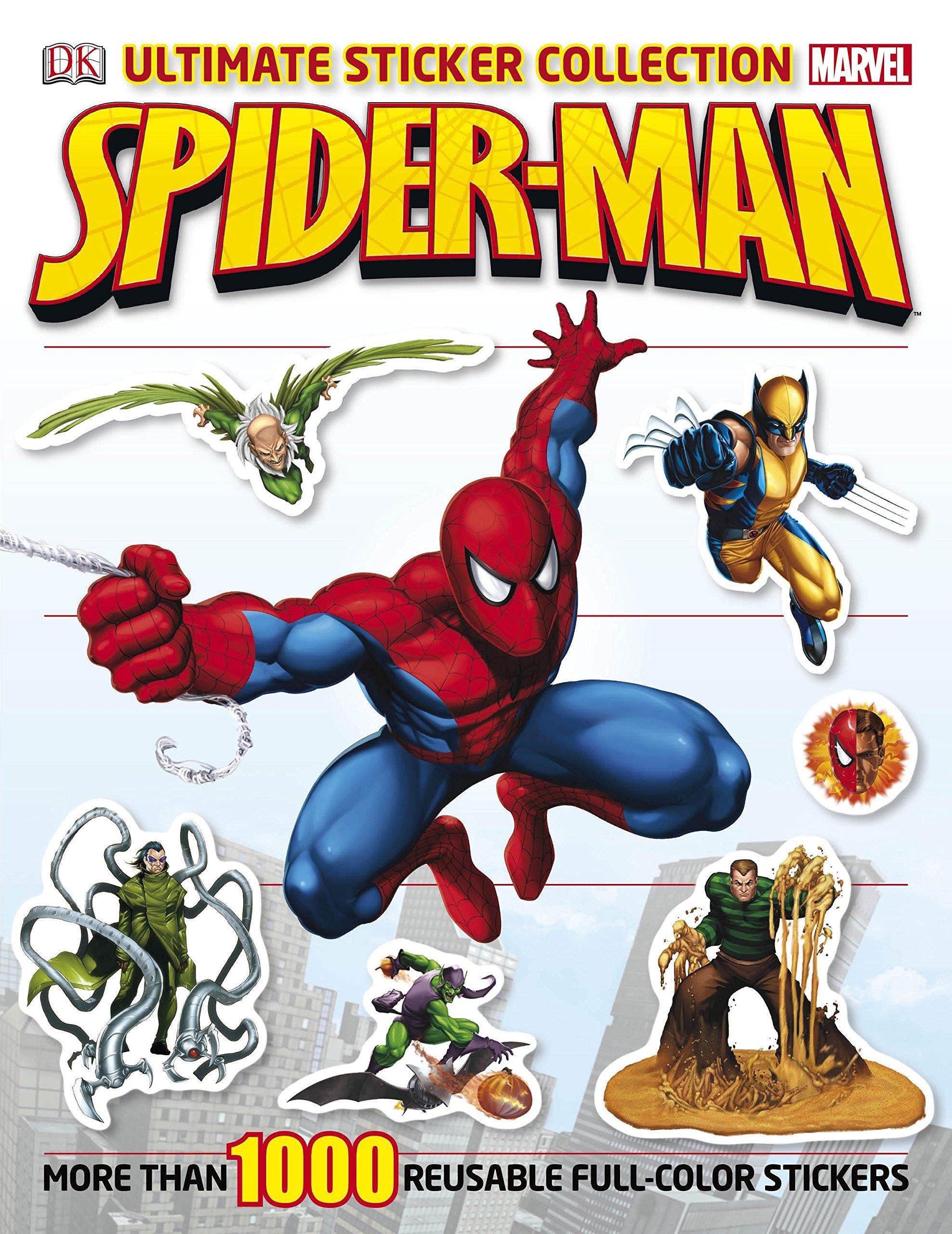 Read Online Ultimate Sticker Collection: Spider-Man pdf