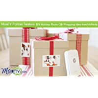 MomTV Partner Feature: DIY Holiday Photo Gift Wrapping Idea from MyPrintly
