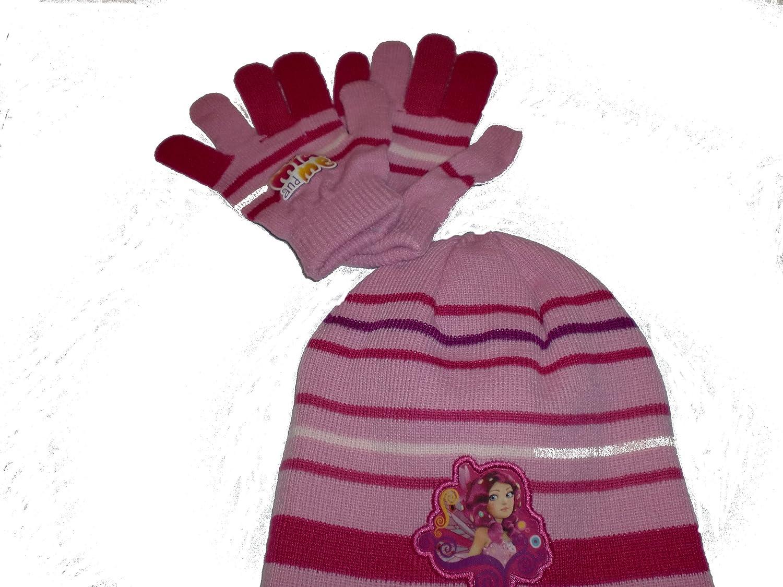MIA and ME Mütze und Handschuhe SET (u117) Winter