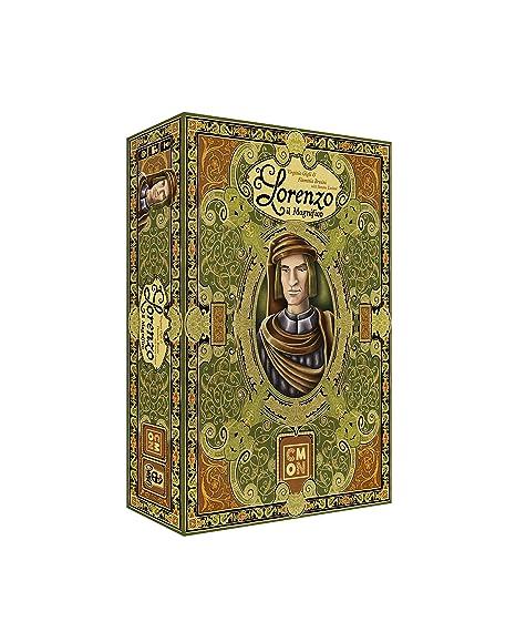 Amazon.com: CMON Lorenzo Il Magnifico Board Game: Toys & Games
