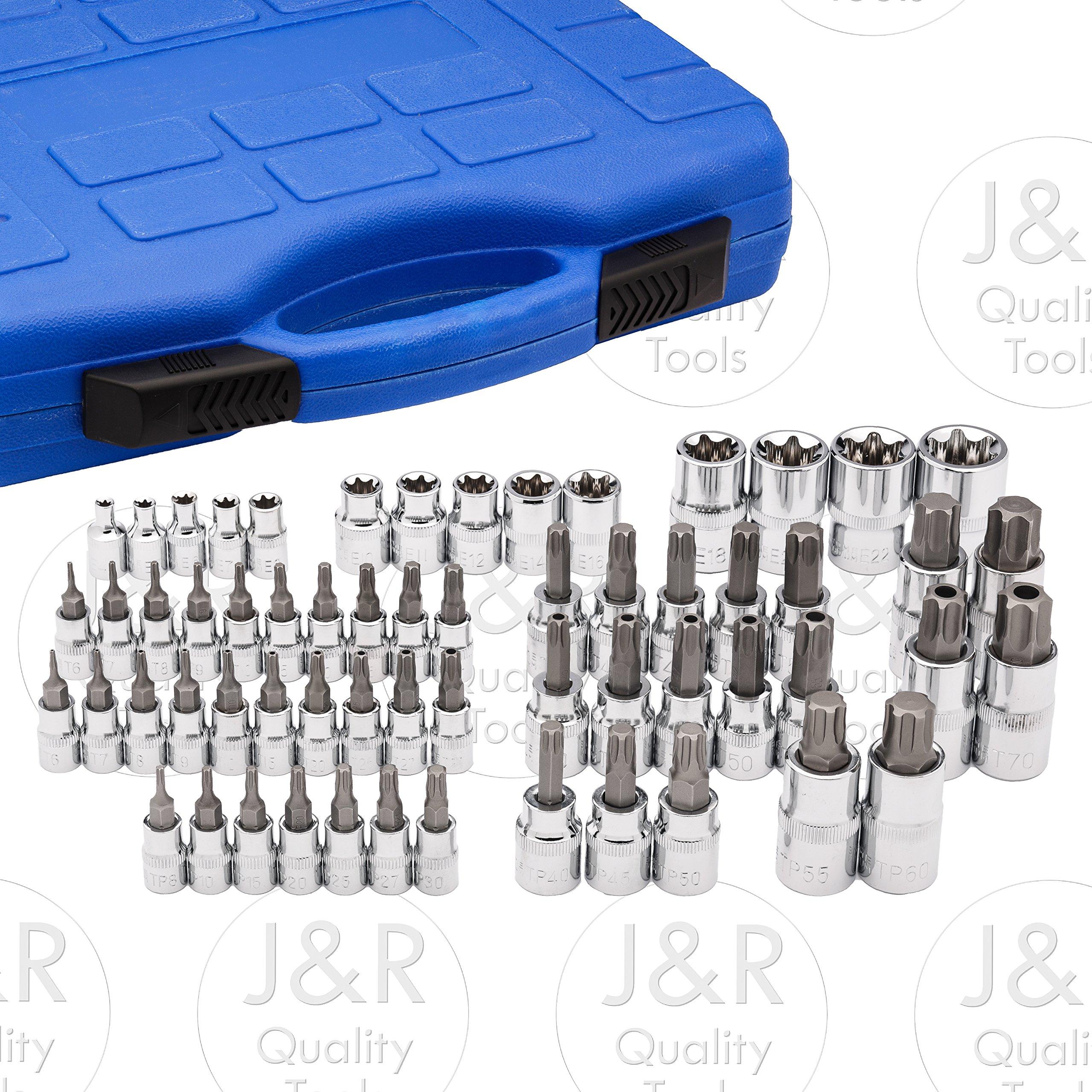 Vector Tools Master Torx Star Socket Set, 60-Piece by vector tools