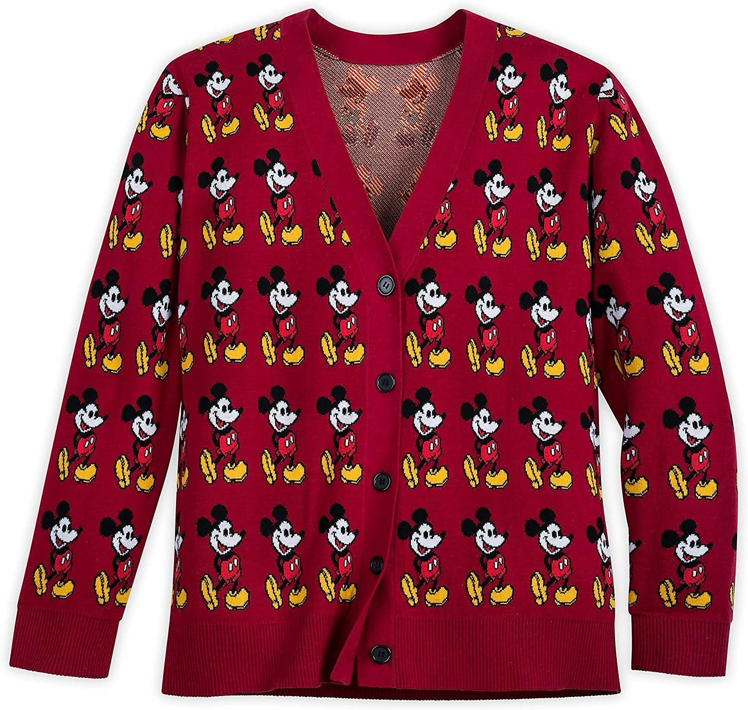 Disney Mickey Mouse Cardigan Sweater for Women Multi