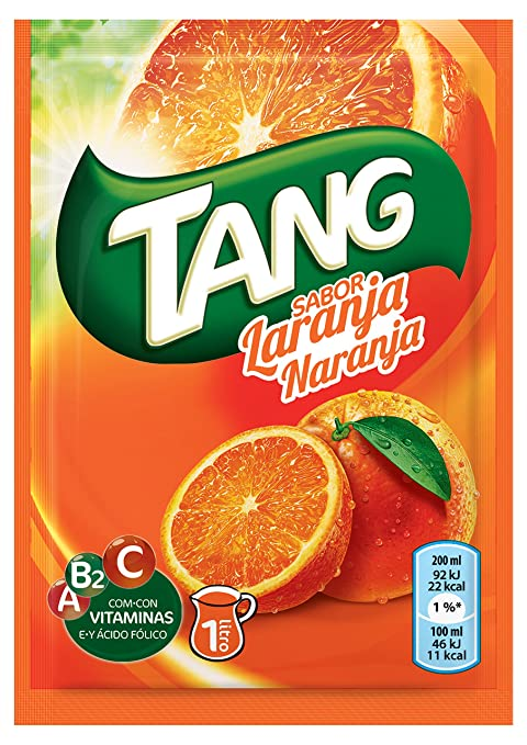 Tang Refresco en Polvo con Sabor de Naranja - 30 g