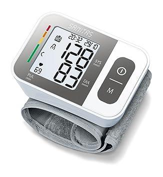 Sanitas SBC 15 Muñeca Automático 2usuario(s) - Tensiómetro (AAA, 1,5 V, LCD, 60 mm, 84 mm, 29 mm): Amazon.es: Salud y cuidado personal