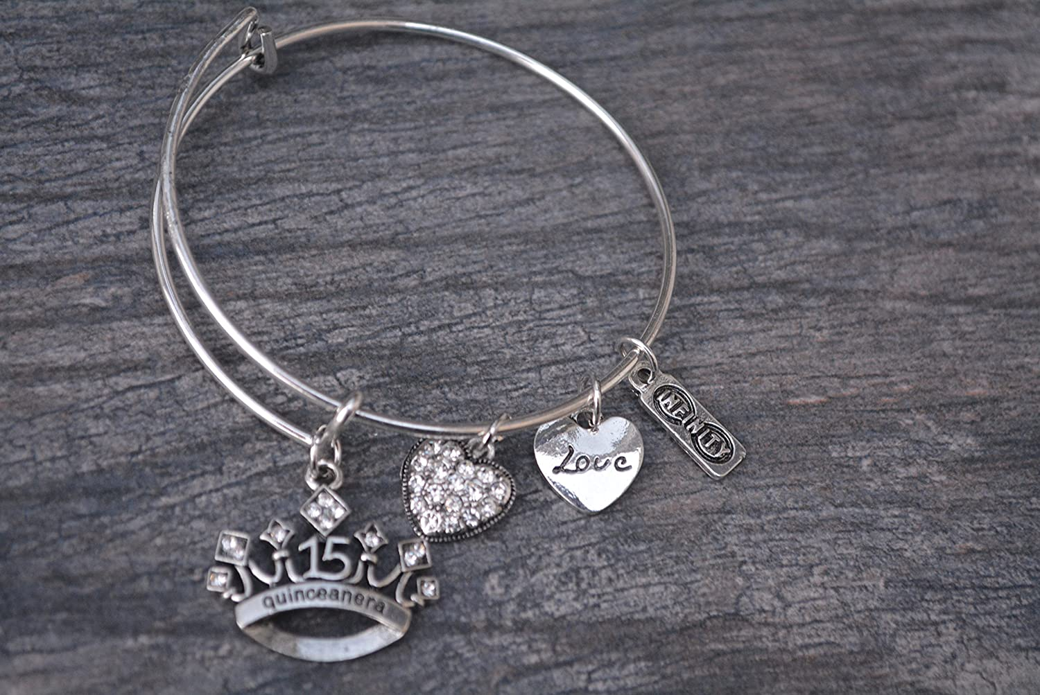 Quinceanera gift /Quinceanera jewelry Girls Sweet 15/Jewelry/ perfetto regalo di compleanno per ragazze Fifteenth Birthday