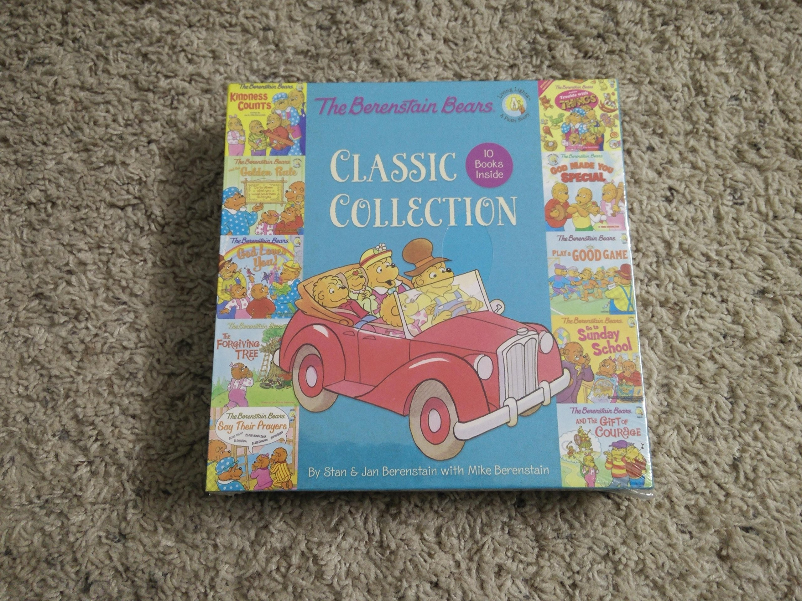 Download Berenstain bears classic collection 10 book set pdf