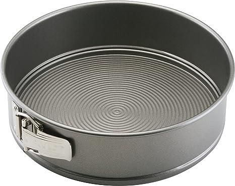 Circulon Total Nonstick Springform Baking Pan / Nonstick Springform Cake Pan / Nonstick Cheesecake Pan, Round - 9 Inch, Gray,51139