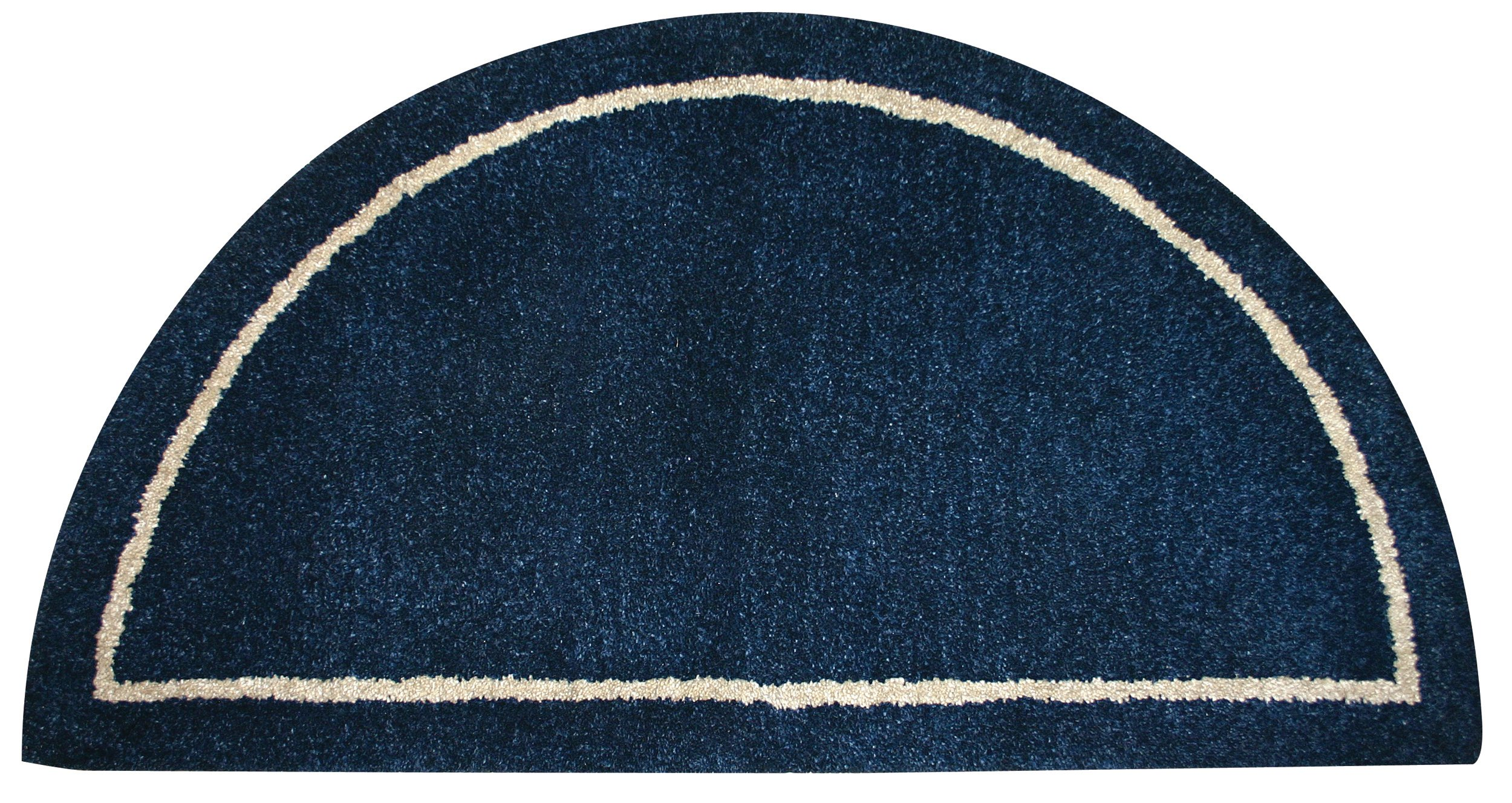 Fireplace Wool Rug Hearth Carpet Fire Resistant Mat Half Round ...
