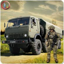Army Cargo Delivery Truck