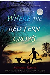 Where the Red Fern Grows Paperback