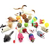 Vogok Variety Pack Cat Mouse Toy for Pet, Cat (22 pieces)