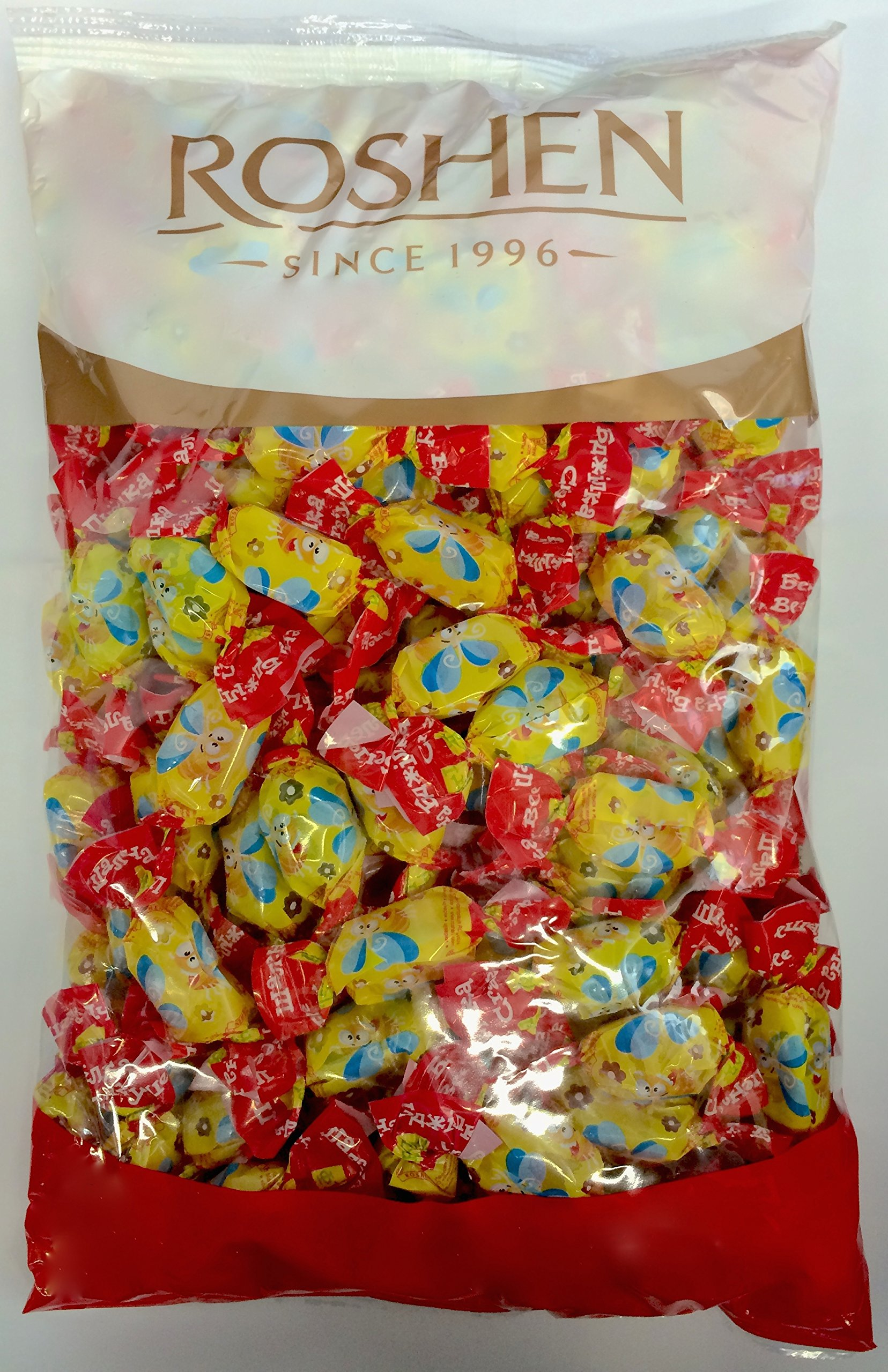 Roshen Crazy Bee Frutty Jelly Candy, 2.2 lbs/ 1 Kg