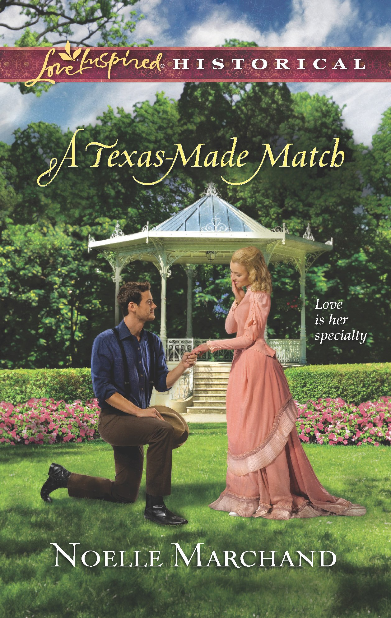 Download A Texas-Made Match (Love Inspired Historical) pdf epub