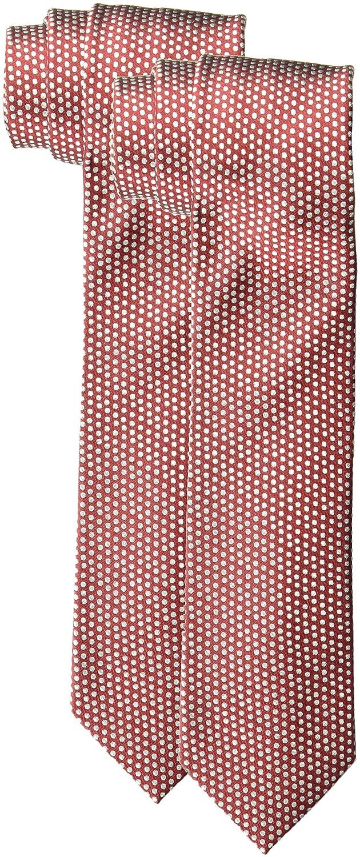 Nick Graham Mens Silk Pin Dot Slim Tie
