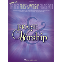More of the Best Praise & Worship Songs Ever Songbook book cover