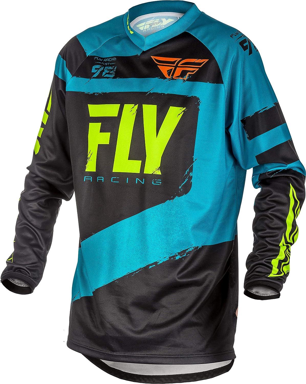 Fly Racing F-16 Mens Blue//Black Motocross Jersey Medium Blue