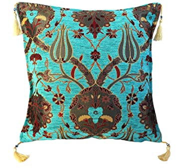 Zleyha Kissenbezug Kissenhlle Sitzkissen Kissen Cushion Cover Orientalisch Osmanische Tulple 013 Tk