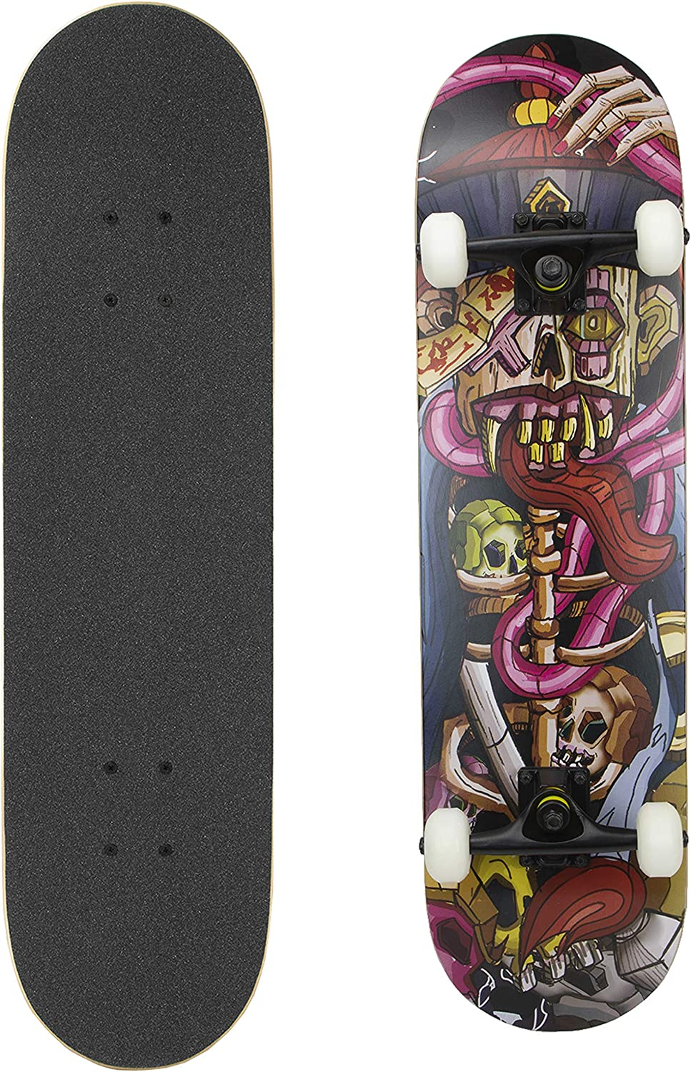 Details about  /Pro 31 inches Complete Skateboards Maple Deck for Teens Beginners Girls Boys