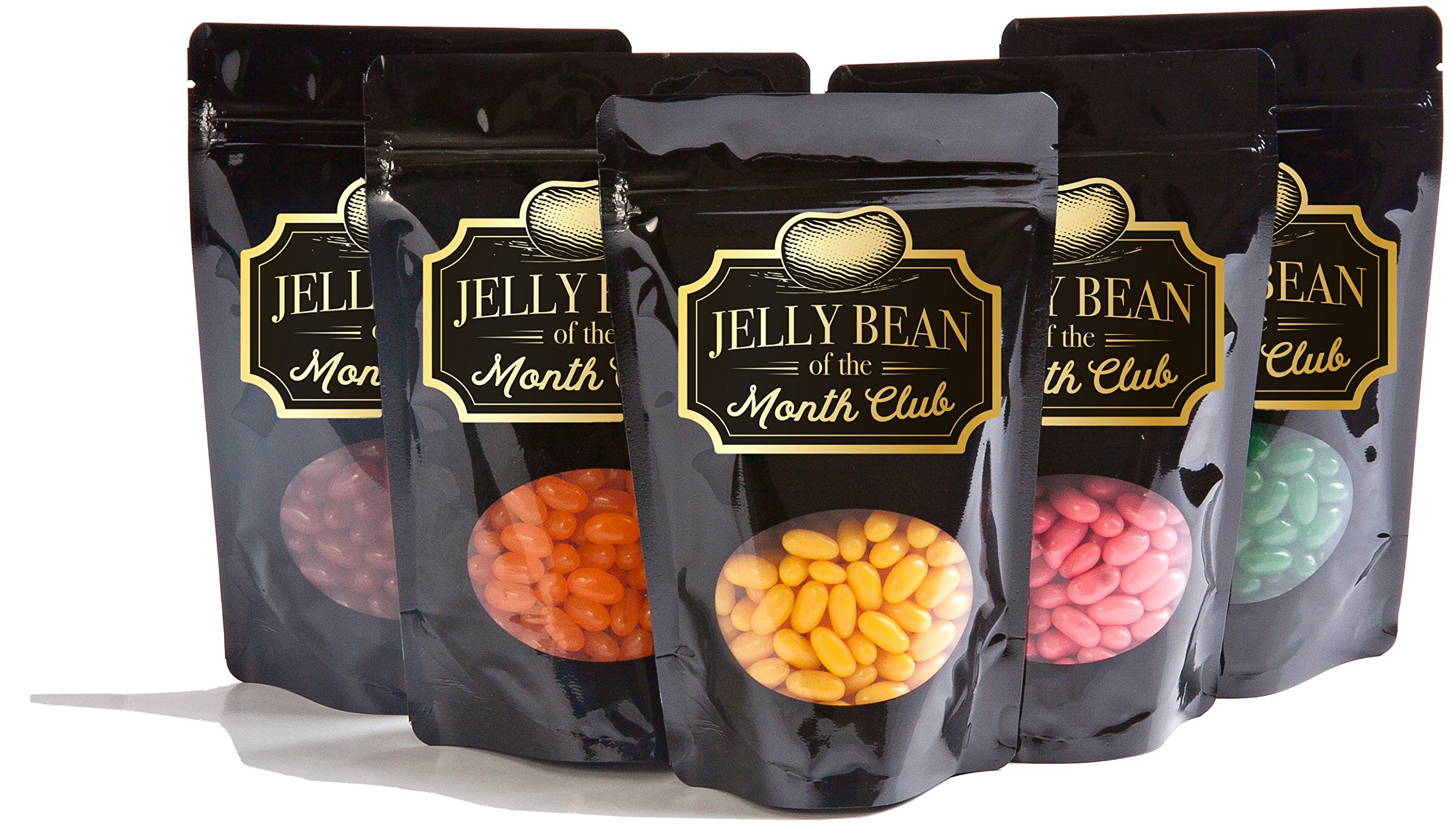 Jelly Bean Of The Month Club Featuring David Murphy Gourmet Jelly Beans - 6 Month Subscription, 2 Bags of Jelly Beans Per Month